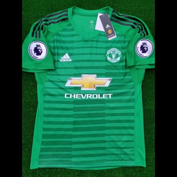 dffb33a59b6 2018 19 Manchester United goalkeeper soccer jersey